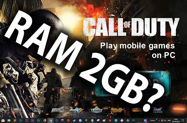Game ini ringan kok sebenarnya, RAM 2GB pun bisa!