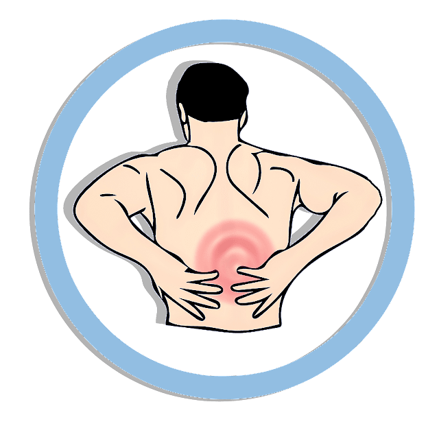 dolor de espalda, raquialgia