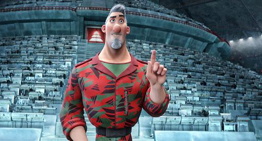Steve de la película de animación Arthur Christmas, Operación Navidad