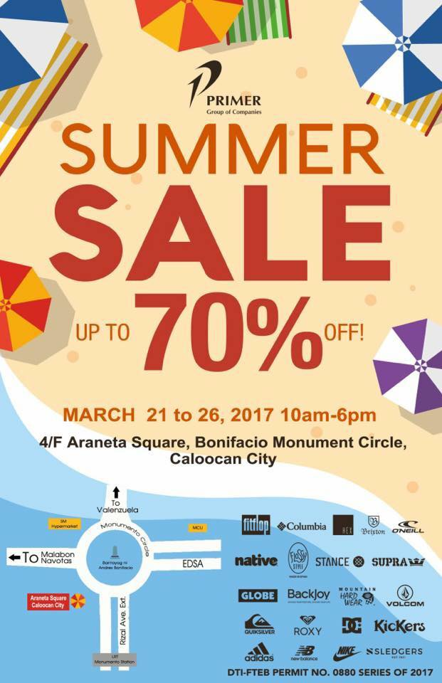 f9caaa59996 Don t miss The Primer Group Summer Bodega Footwear SALE happening on March  21-26