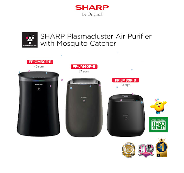 Sharp Air Purifier with Mosquito Catcher