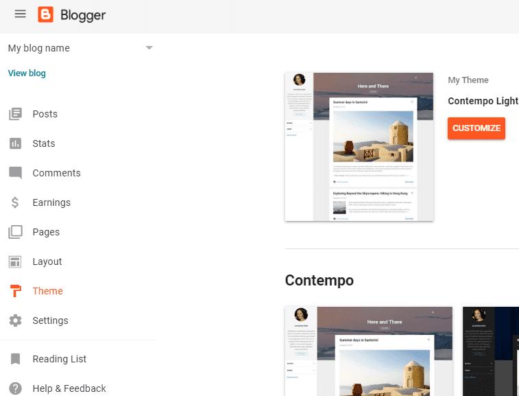 change-blogger-theme