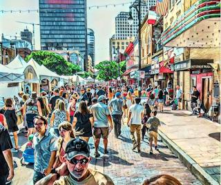 austin festivals pecan street festival