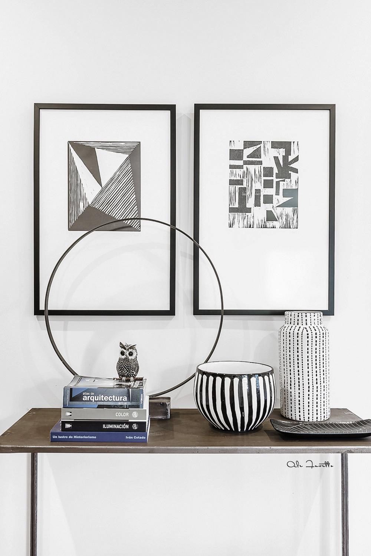 Styling entrada - Diseño de interiores: Estudio Felipon - Fotografía: Ale Favetto