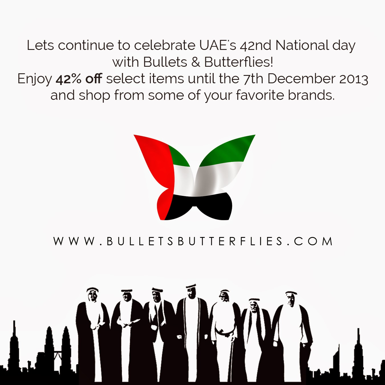 Bullets And Butterflies: HAPPY 42ND NATIONAL DAY UAE