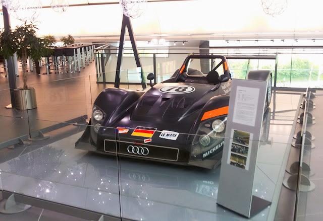Audi, Neckarsulm, fabryka, F1