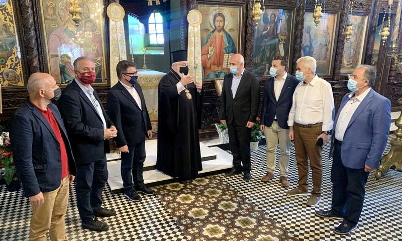 Αποκατάσταση του μεταβυζαντινού ναού Αγίου Γεωργίου στο Σουφλί και νέος φωτισμός στο Κάστρο της Χώρας Σαμοθράκης