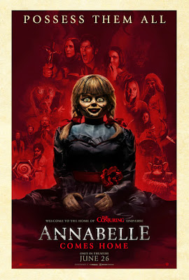 Annabelle Comes Home Movie Poster 2
