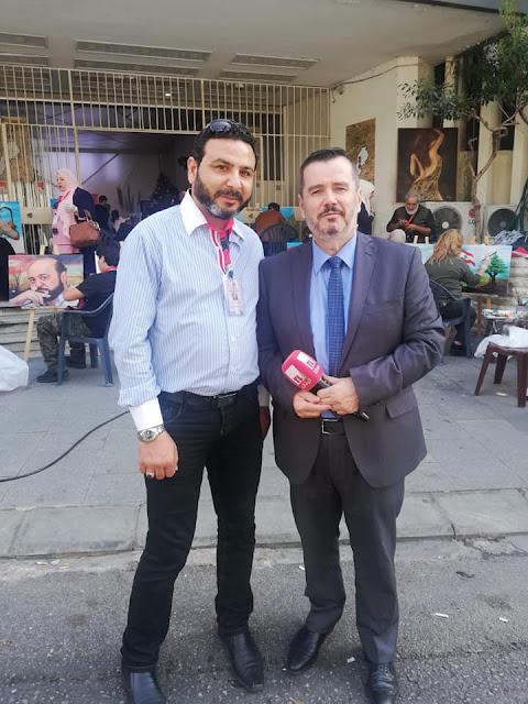 إدارة تلفزيون لبنان تكرم الفنان اللبناني الدكتور عصام منانا