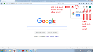 Halaman Utama Akun Google