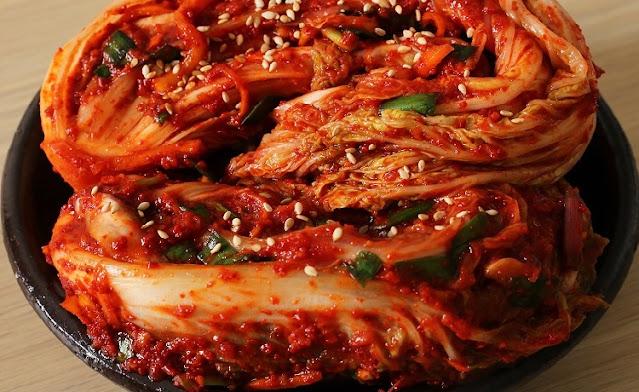 Masakan Korea Kimchi