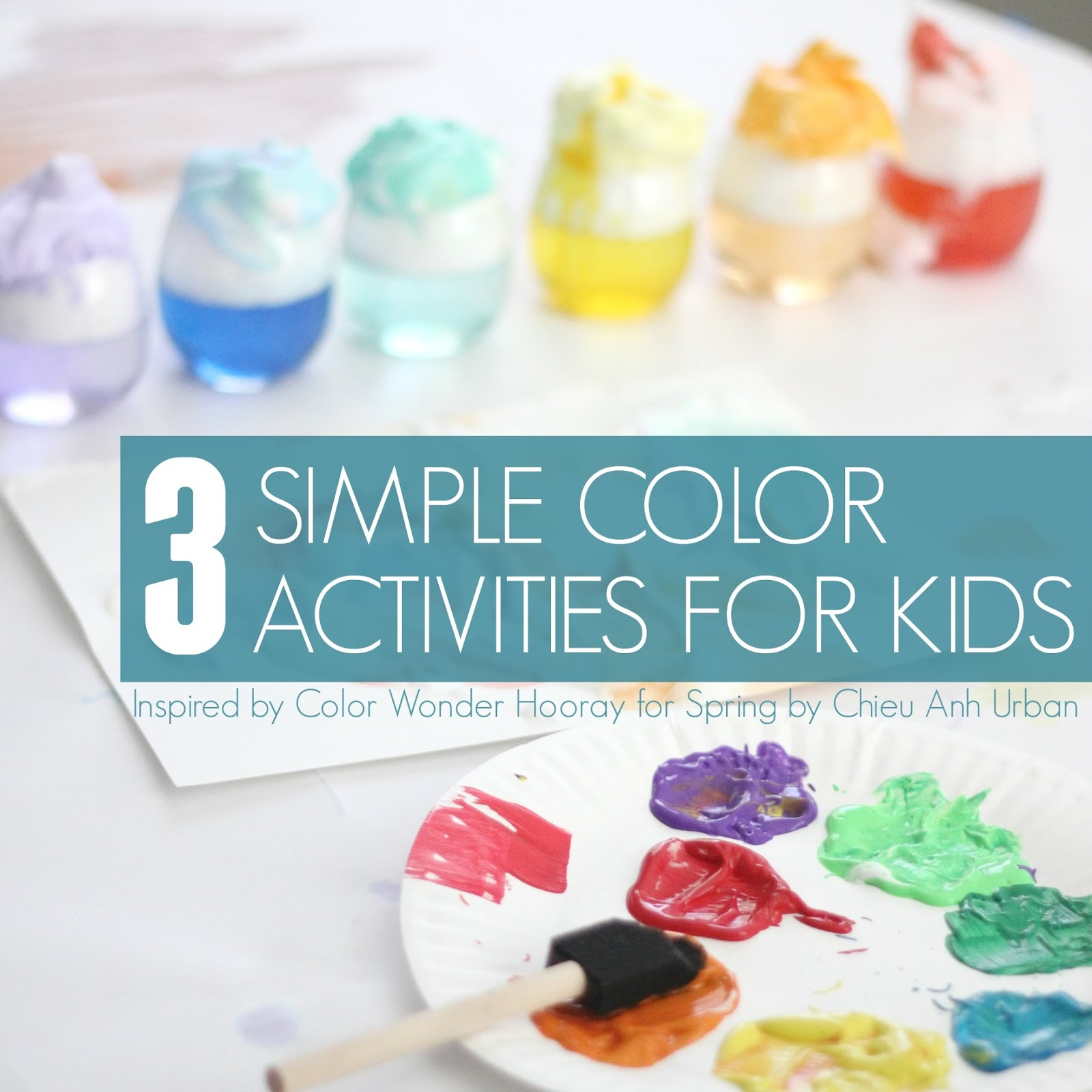 Toddler Approved!: 3 Simple Rainbow Color Activities for