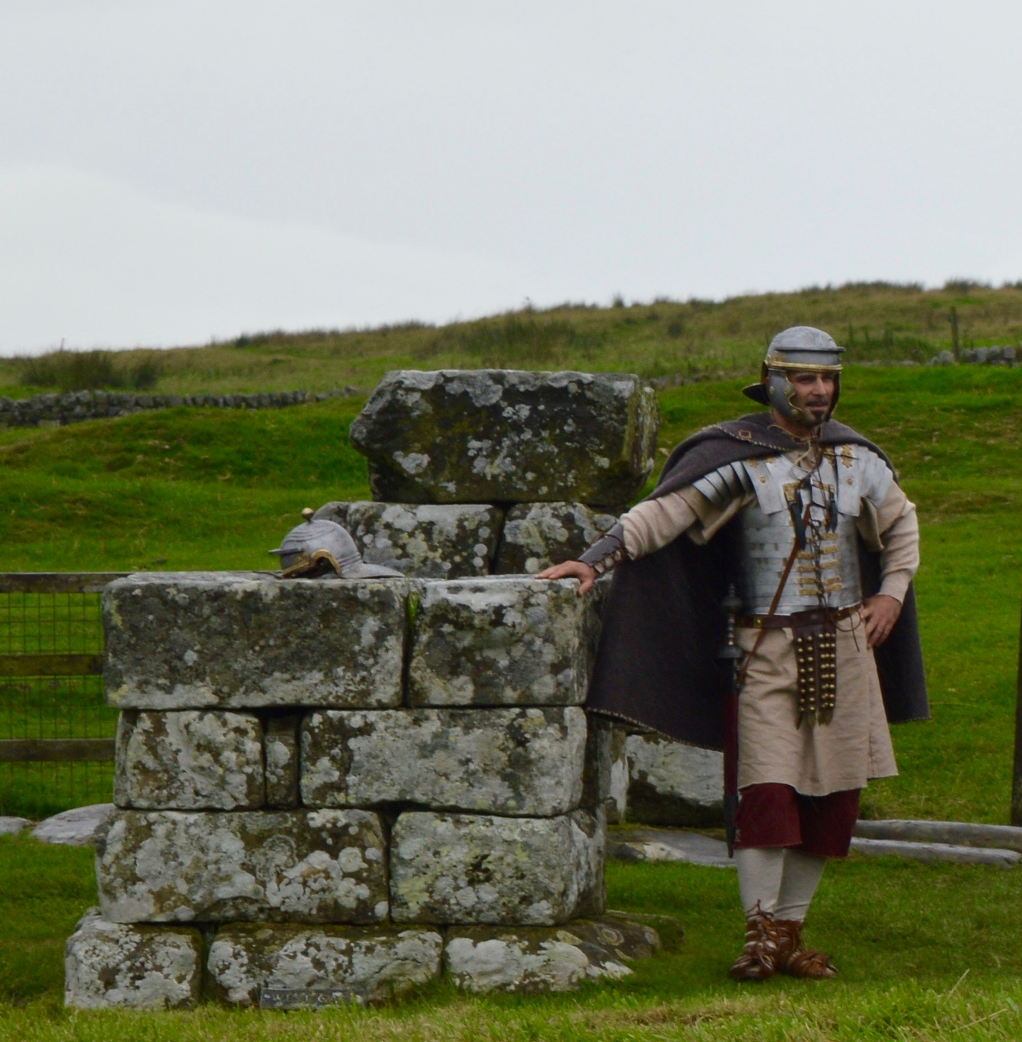 Hadrian's Wall Live 2016 | Birdoswald Roman Fort & Housesteads - A Review - housesteads night patrol