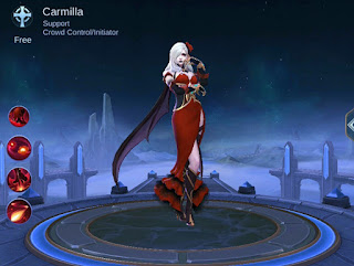 3 Skill Hero Carmilla Mobile Legends