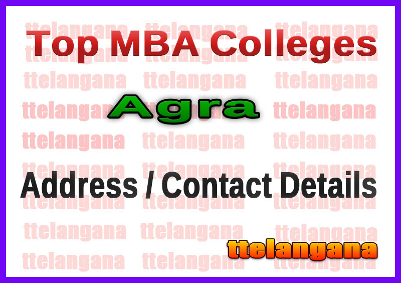 Top MBA colleges in Agra