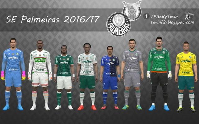 SE Palmeiras Kit 2016-2017 PES 2017