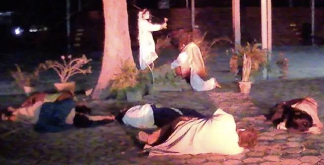 Oración en el Monte de los Olivos donde un ángel se aparece a Jesús