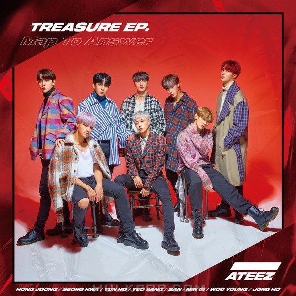 ATEEZ – Treasure EP. Map to Answer (ITUNES MATCH AAC M4A)