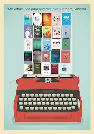 Libros de la Dra. @_BarbaraCabrera (autoría, coordinación y coautoría)