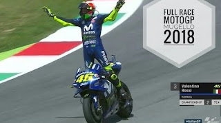 Video Full Race MotoGP Mugello Italia 2018