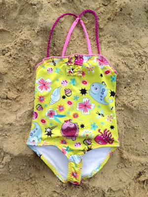 Girl Swimwear.Braids One Piece Kids Toddler Beachwear