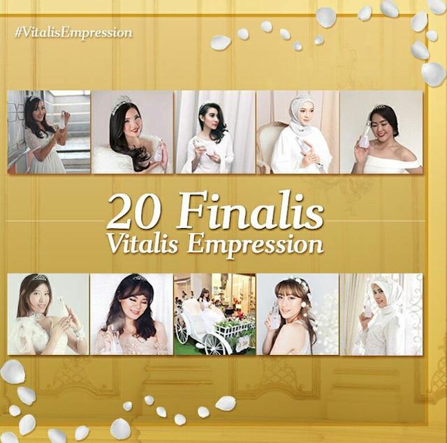 20 Top Finalis Vitalis Empression 2017