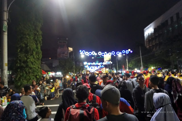 Keramaian Semarang Night Carnival 2019