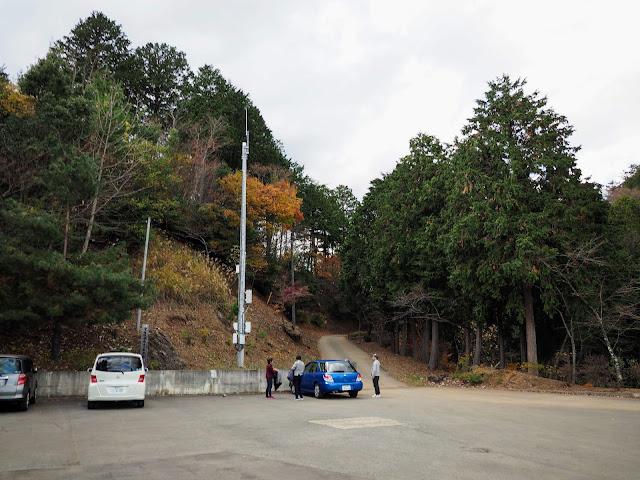 子ノ権現 駐車場