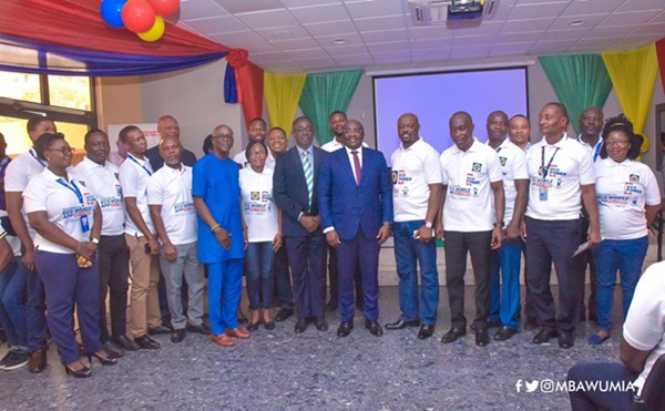 VP Bawumia launches ECG's Mobile App