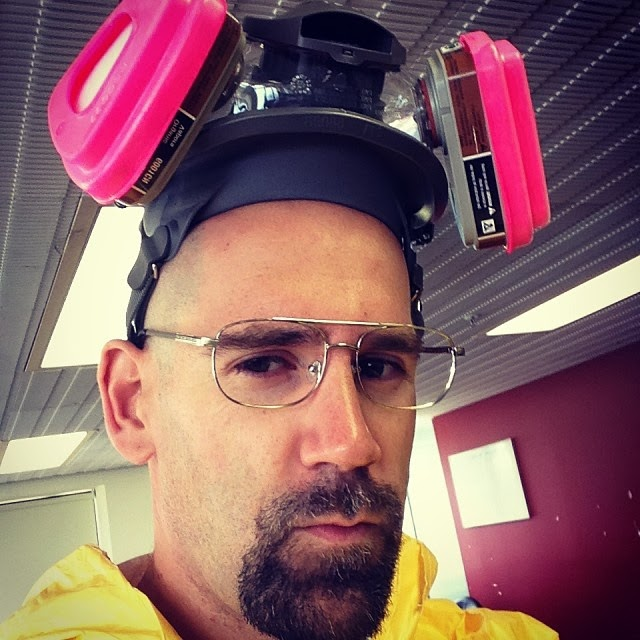 walt cosplay breaking bad