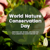 World Nature Conservative Day - 28th July 2021   History   Download Images, Pictures, Wishes, Quotes, and Wallpapers