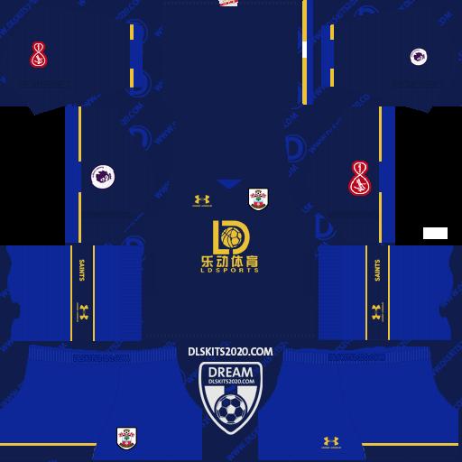 Southampton F.C. Kit 2020-2021 Under Armour - Kit Dream League Soccer 2019