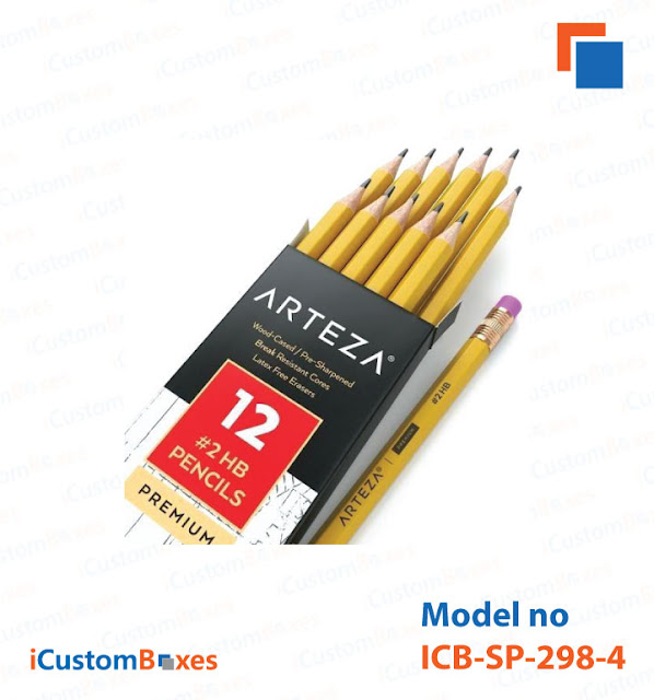 Pencil Packaging Boxes
