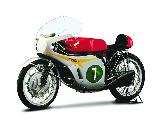 Honda RC166 1960s Japanese classic racing motorcycle