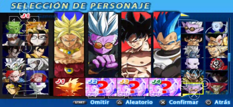 Super Dragon Ball Heroes PPSSPP DBZ TTT MOD ISO