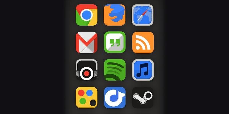 SquarePlex Icon Set