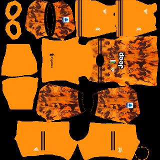 Juventus - Dream League Soccer 2021 Forma Kits & Logo