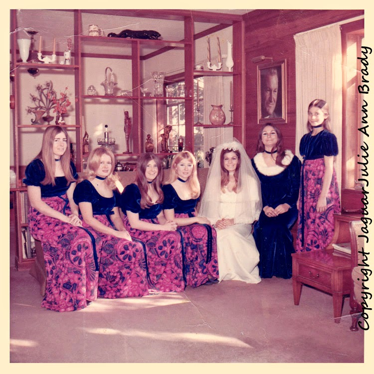 JaguarJulie Ann Brady Bridal Party - December 1971