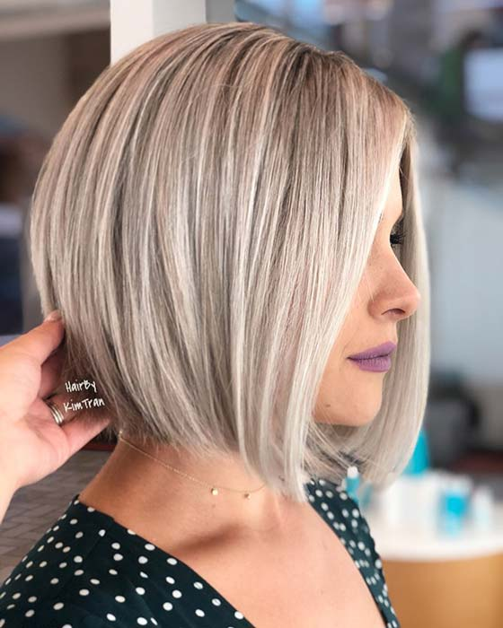 34 Easy Short Stacked Bob Haircuts For Thin Hair To Copy In