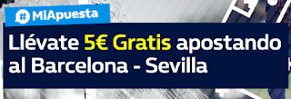 William Hill promocion Barcelona vs Sevilla 4 noviembre