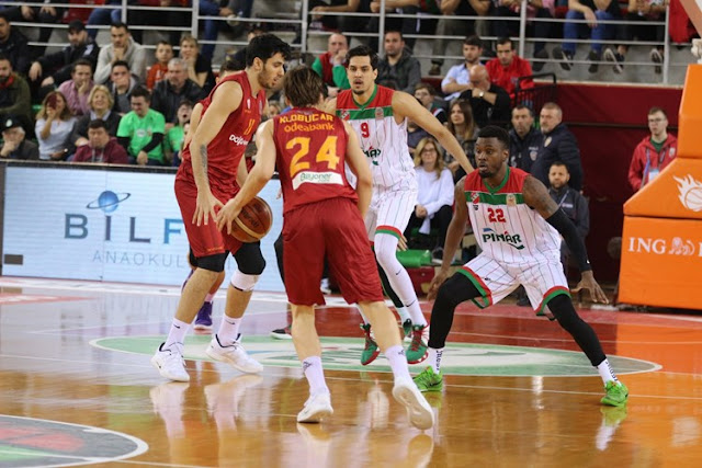 TBSL | Galatasaray, Karşıyaka'ya mağlup oldu