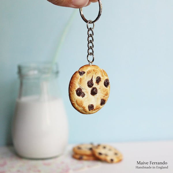 chocolate%2Bchip%2Bcookie%2Bpolymer%2Bclay%2Bcharm