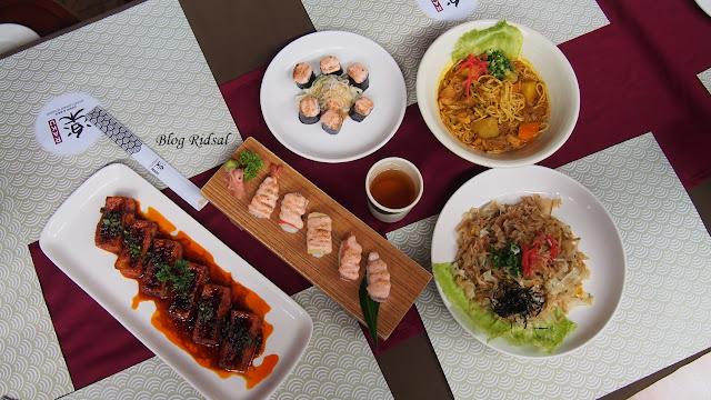 Raku Sushi, Kuliner Jepang dan Medan #12