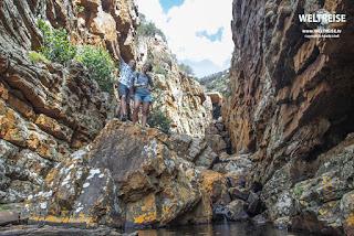 Admiral's Wasserfall in Simons Town, Kapstadt Südafrika. WELTREISE auf www.WELTREISE.tv