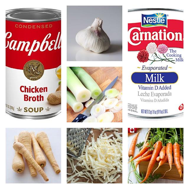 Garlic & White Cheddar Bisque