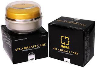 Jual Produk Cream Payudara Ayla Breast Care Original Nasa Pembesar dan Pengencang Payudara BPOM Harga Termurah.