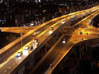 Land acquisition bottleneck in country's longest double decker flyover construction, construction work interrupted.