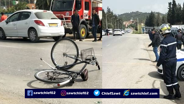 إصابة طفلان في حادث مرور خطير بسيدي عكاشة
