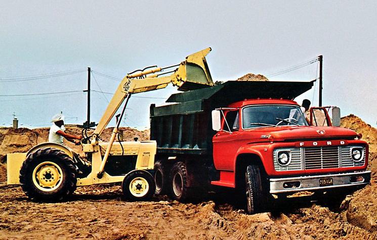 Ford B-, F-, T-Series Trucks 1964 Fuel Pump Schematic ...