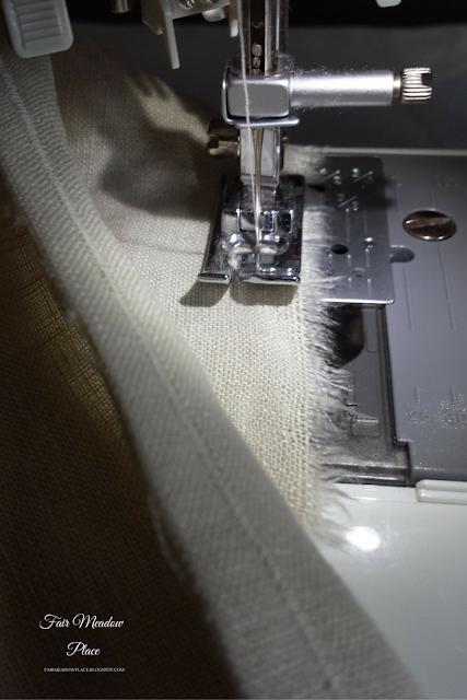 Make Linen Napkins & A Table Runner